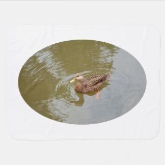 水アヒルの動物の羽の鳥のマガモの雌鶏 ベビー ブランケット