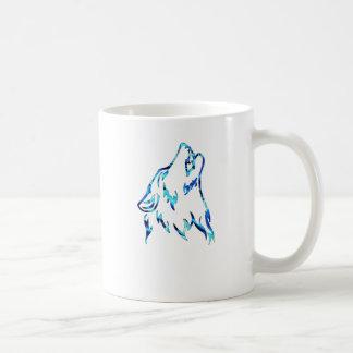 水オオカミ コーヒーマグカップ