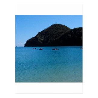 水カヤックを漕ぐ経験 ポストカード