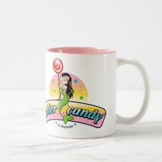 水キャンデーのマグ ツートーンマグカップ