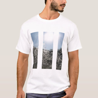 水ストリップ Tシャツ