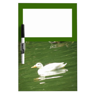 水メモ板のアヒル ホワイトボード