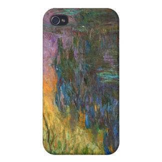 水ユリ-クロード・モネ iPhone 4 COVER