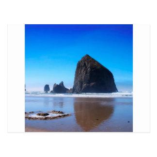 水三角波の石 ポストカード