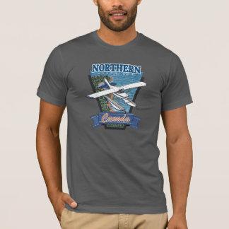 水上飛行機の航空冒険 Tシャツ