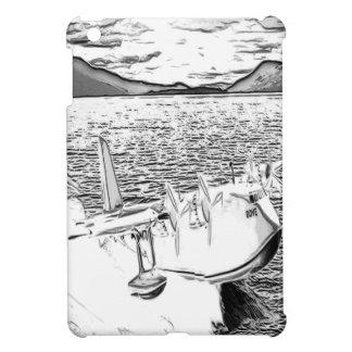 水上飛行機の鳩1 iPad MINI カバー