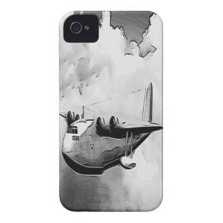水上飛行機の鳩6 iPhone 4 カバー