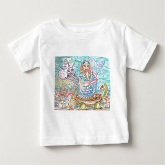 水不思議の国のアリス ベビーTシャツ