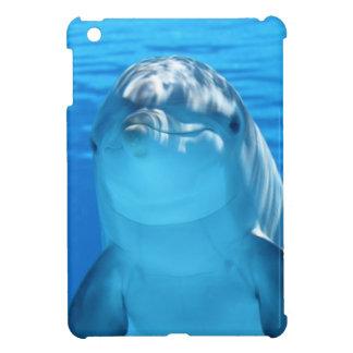 水中かわいいバンドウイルカ iPad MINIケース