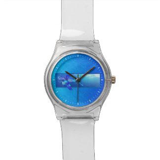 水中ウミガメ 腕時計