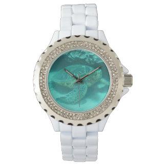 水中カメ 腕時計