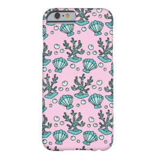 水中パターンiPhone6ケース Barely There iPhone 6 ケース