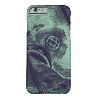 水中ヴィンテージのスキューバダイバーの産業溶接 BARELY THERE iPhone 6 ケース