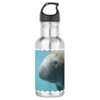 水中大きいマナティー ウォーターボトル