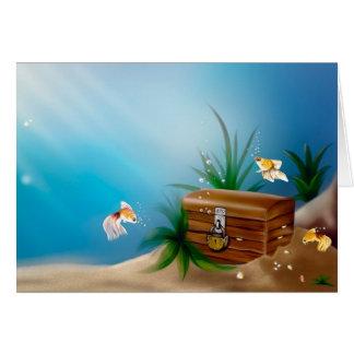 水中宝物 カード