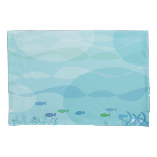 水中影の枕カバー 枕カバー