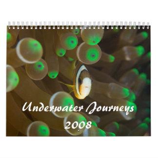 水中旅行2008年 カレンダー