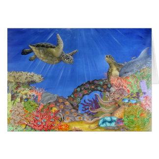水中楽園 カード
