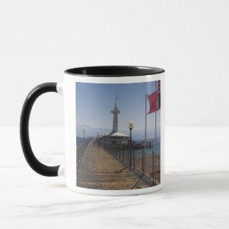 水中海洋公園、観測塔2 マグカップ
