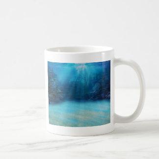 水中珊瑚礁タワー コーヒーマグカップ