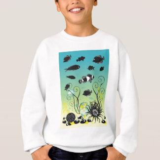 水中生命 スウェットシャツ