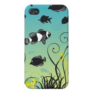 水中生命 iPhone 4/4S ケース