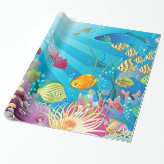 水中2包装紙 ラッピングペーパー
