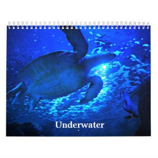 水中 カレンダー