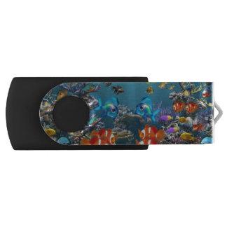 水中 USBフラッシュドライブ
