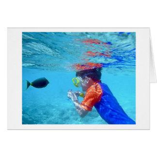 水中Hanauma カード