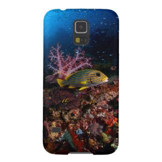 水中Laja Ampat Galaxy S5 ケース