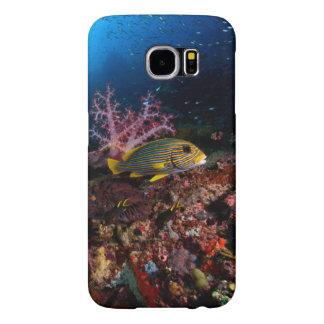 水中Laja Ampat Samsung Galaxy S6 ケース