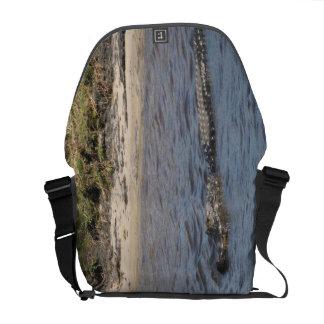 水人力車のメッセンジャーバッグのわに メッセンジャーバッグ