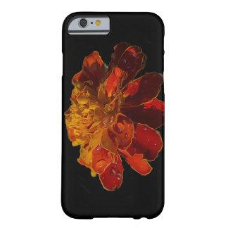 水低下のマリーゴールドの花 BARELY THERE iPhone 6 ケース