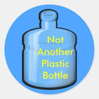 水別のプラスチックボトルではなく ラウンドシール