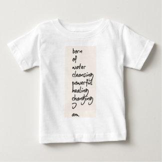 水印の詠唱 ベビーTシャツ