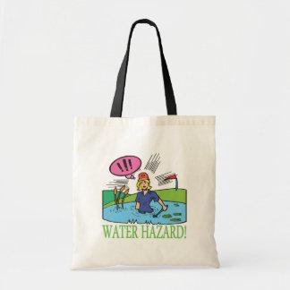 水危険 トートバッグ