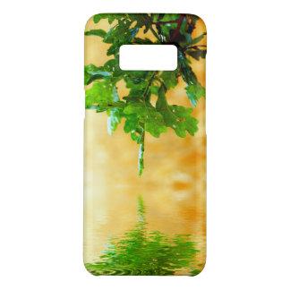水及び植物のSamsungの銀河系S8、やっと電話箱 Case-Mate Samsung Galaxy S8ケース