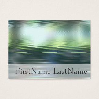 水地平線のカスタムな不朽の名刺 名刺