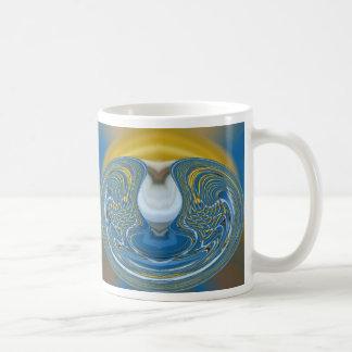 水地球のマグ コーヒーマグカップ