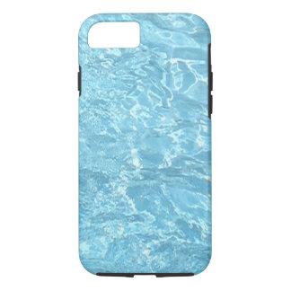水夏期の日光の青いプールのiPhoneの箱 iPhone 8/7ケース
