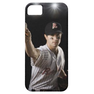 水差しの投げる野球のポートレート iPhone SE/5/5s ケース