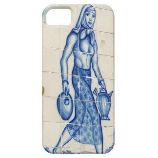 水差しを持つ女の子 iPhone SE/5/5s ケース
