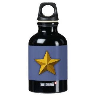 水差し、アルミニウム水差し、金ゴールドの星 ウォーターボトル