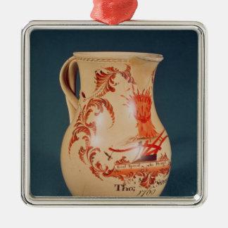 水差し、リーズ、c.1770 メタルオーナメント