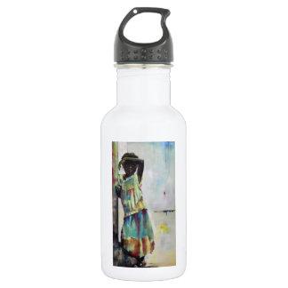 水差し、白の「女の子」 ウォーターボトル
