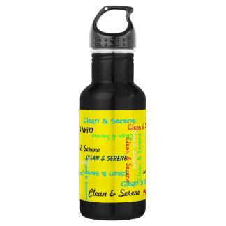 水差し、黄色きれい、落ち着いた ウォーターボトル