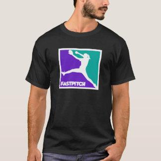 水差しFastpitch、PWTeal Tシャツ