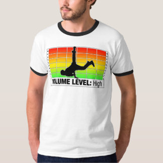 水平な容積: 高いV2 Tシャツ
