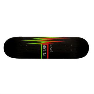 水平な脈拍 18.1CM オールドスクールスケートボードデッキ